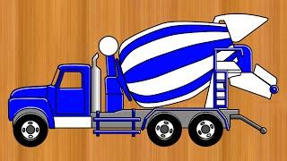 """getlinkyoutube.com-L'atelier de Noël """"camion toupie"""""""
