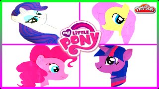 getlinkyoutube.com-♥ My Little Pony PLAY DOH Best Compilation Plasticine Creations (Rarity Pinkie Pie Twilight Sparkle)