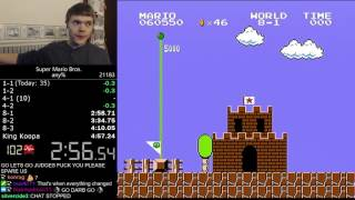 getlinkyoutube.com-(4:56.878) Super Mario Bros. any% speedrun *World Record*