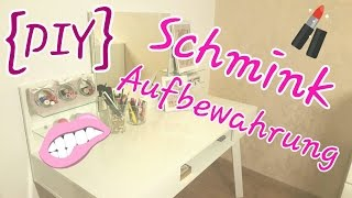 getlinkyoutube.com-DIY - Pimp mein Schminktisch #2 (Schminkaufbewahrung) | Nc LikeMe