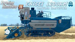 getlinkyoutube.com-Farming Simulator 2015 mod crawler harvester ENISEI 1200RM