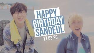 Happy Birthday Sandeul 2017 ♡ #HAPPYSANDEULDAY