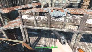 getlinkyoutube.com-[Fallout4/小ネタ]ハングマンズアリーで周囲の屋上全てに登れる建築例 Fallout 4[PS4]