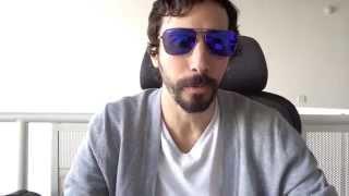 Ray-Ban RB 3136 167/1M Caravan Lilac Violet Mirrored Sunglasses width=
