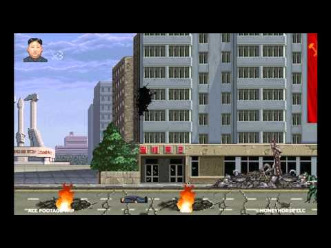 Watch North Korea's Kim Jong-Un Fighting America In This Video Game!