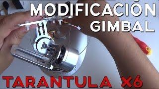 getlinkyoutube.com-MOD GIMBAL Brushless para Drone YiZhan Tarantula X6  & Cheerson Cx20