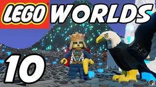 getlinkyoutube.com-LEGO Worlds - E10 - Crystal Mountains! (Gameplay Playthrough 1080p60)
