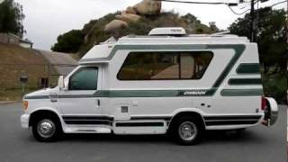 getlinkyoutube.com-Chinook Concourse RV Motorhome Class C or B Solar Powered Ford Camper For Sale