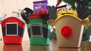 getlinkyoutube.com-Fry box | Cajita navideña con dulces fácil