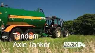 Major Equipment Tandem Axle Slurry Tanker