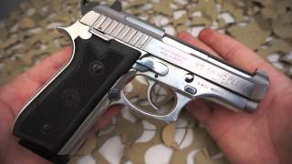 getlinkyoutube.com-Taurus PT58HC Plus 92FS 81BB Stainless Cheetah Clone 380ACP Pistol Overview - Texas Gun Blog