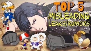 getlinkyoutube.com-Top 5 Misleading Leaks & Rumors in Super Smash Bros. (Series)