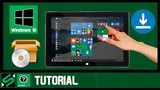 getlinkyoutube.com-Instalar Windows 10 en una Tablet o PC - Tutorial en Español