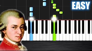 getlinkyoutube.com-Mozart - Eine kleine Nachtmusik - EASY Piano Tutorial by PlutaX - Synthesia