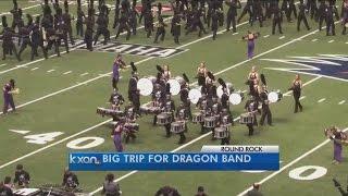 getlinkyoutube.com-Round Rock Dragon Band headed to Pasadena