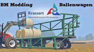 getlinkyoutube.com-Farming Simulator 15 Presentazione Krassort Ballenwagen by Bm Modding