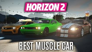 getlinkyoutube.com-Forza Horizon 2 | Best Muscle Car?!