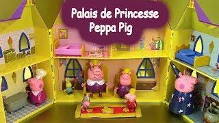 getlinkyoutube.com-Palais de Princesse Peppa Pig Princess Peppa's Palace Pâte à modeler Peppa Pig