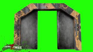 getlinkyoutube.com-Green screen close door
