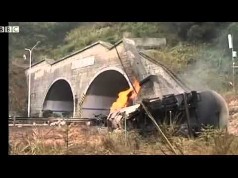 Tanker explosion in China kills five people. Tanker carrying natural gas has exploded in China