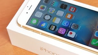 getlinkyoutube.com-Unboxing, Setup & First Impressions: iPhone 6s (64GB Gold)