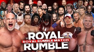 getlinkyoutube.com-WWE Royal Rumble 2017 - Royal Rumble Match - WWE 2K17