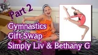 getlinkyoutube.com-Gymnastics Gift Swap With Simply Liv   Opening Presents