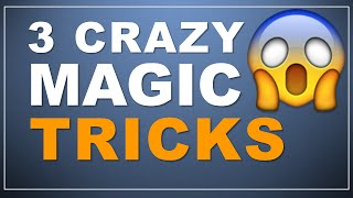 getlinkyoutube.com-3 Crazy Magic Tricks! (one mind reading trick!)