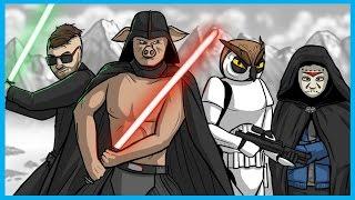 getlinkyoutube.com-Star Wars Battlefront Launch Funny Moments! - Funny Gestures, Luke Skywalker, and Ewok Hunt!