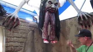 getlinkyoutube.com-HHN 2012 Hollywood Behind the Scenes Tour: La LLorona PART 2
