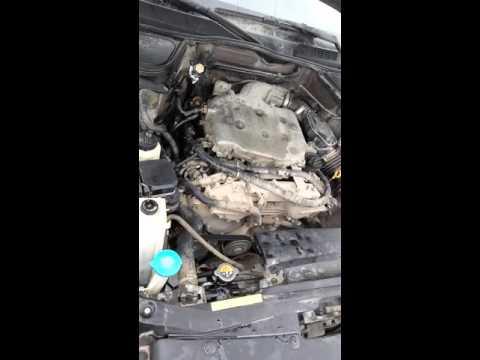 Свист на высоких оборотах VQ35 Infiniti