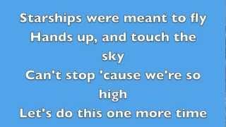 Starships - Nicki Minaj - Lyrics