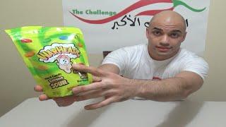 getlinkyoutube.com-تحدي أكل 35 حبة حلاوة الاكثر حموضة بالعالم Warheads |تحذير: دم وألم| |التحدي الأكبر|