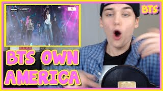 BTS   FAKE LOVE   BILLBOARD MUSIC AWARDS PERFORMANCE REACTION [SLAYED]