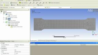 getlinkyoutube.com-Tensile Test with Ansys Workbench
