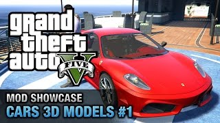 getlinkyoutube.com-GTA 5 Car Mods #1 - Ferrari F430, Lamborghini Aventador, Bugatti Police and More