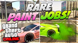 "getlinkyoutube.com-GTA 5 Paint Jobs: Best Rare Paint Jobs Online! (Corrosive,Magnetic,Venom) ""GTA 5 Secret Paint Jobs"""