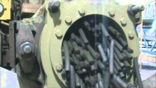 Mn ore and baghouse dust extrusion 1.0.wmv