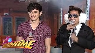 getlinkyoutube.com-It's Showtime Ansabe: James Reid