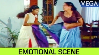 Kodai Mazhai Tamil Movie || Girl Cries For Her Mothers Saree || Emotional Scene