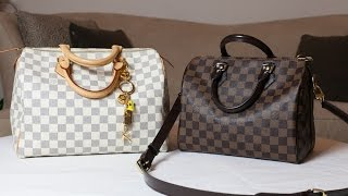 getlinkyoutube.com-Louis Vuitton Speedy Bandouliere 25 and Speedy 30 Review and Comparison