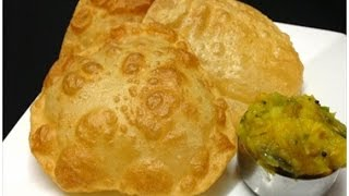 getlinkyoutube.com-Perfect Poori / Puri and Potato Masala Kerala Style