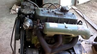 getlinkyoutube.com-Двигатель ом 364 на газ 66 дизель-спринтер2