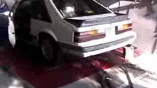 getlinkyoutube.com-1985 Ford Mustang GT 302 w/GT-40p Heads Dyno Test
