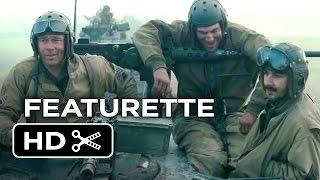 getlinkyoutube.com-Fury Featurette - Brothers Under The Gun (2014) - Brad Pitt, Shia LaBeouf War Movie HD