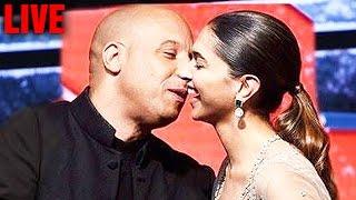 getlinkyoutube.com-XXX Review, Grand Premiere Deepika Padukone & Vin Diesel Kiss I HD