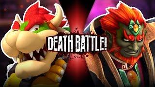Bowser VS Ganon | DEATH BATTLE!