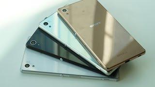 getlinkyoutube.com-Знакомство с Sony Xperia Z3+