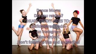 Dance Moms - Did you realise?