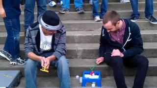 getlinkyoutube.com-Seananners plays Break the Ice with a Fan- Golden Gate Park - 2/5/2012